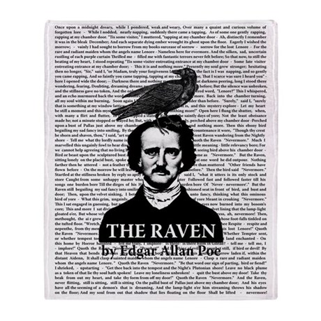 edgar allen poe the raven analysis In edgar allan poe's the raven, a young student has an encounter with a raven throughout the student's conversation with the raven, it only says nevermore the poem starts with the young student reading in his chamber on a stormy night.