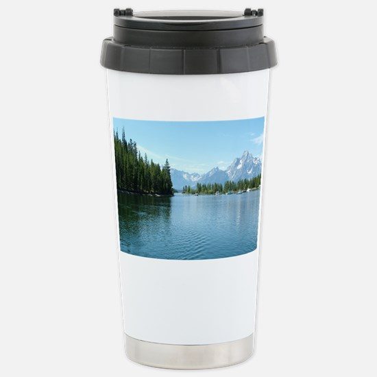 Grand Teton National Pa Stainless Steel Travel Mug