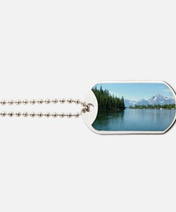 Grand Teton National Park landscape photo Dog Tags