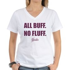 All Buff No Fluff Fat Hamster T-Shirt