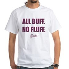All Buff No Fluff Fat Hamster T-Shirt