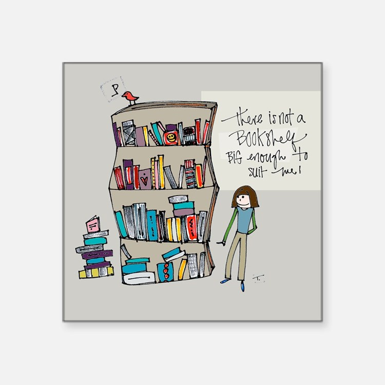 The Book Lover Sticker