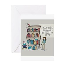 The Book Lover Greeting Cards