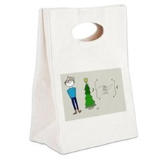 Feel It Canvas Lunch Tote