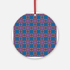 Retro Pattern 1 Ornament (Round)