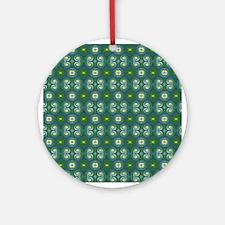 Retro Pattern 3 Ornament (Round)