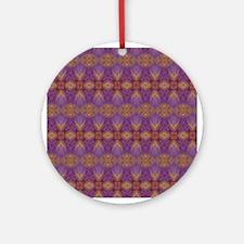 Retro Pattern 5 Ornament (Round)