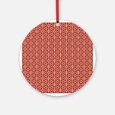 Retro Pattern 7 Ornament (Round)