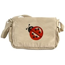Cute Red Ladybug Messenger Bag