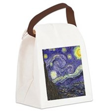 Starry Night by Vincent van Gogh Canvas Lunch Bag
