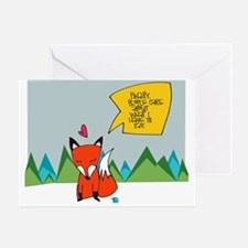 What Does the Fox Say? Greeting Cards