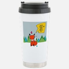 What Does the Fox Say? Travel Mug