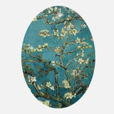 Blossoming Almond Tree, Vincent van  Oval Ornament