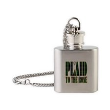 Armstrong Clan Flask Necklace
