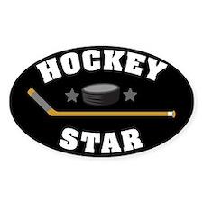Hockey Star Decal