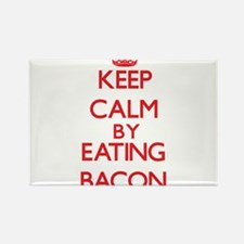 Keep calm by eating Bacon Magnets