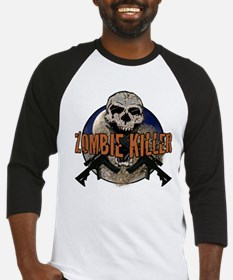 Tactical zombie killer Baseball Jersey