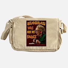 HILLARY BENGHAZI FAULT Messenger Bag