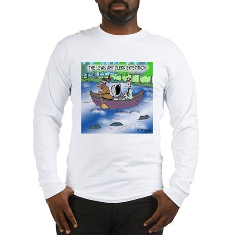 The Lewis and Clerk Expedition Long Sleeve T-Shirt