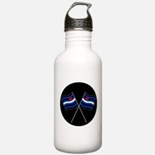 BDSM Racing Flags Water Bottle