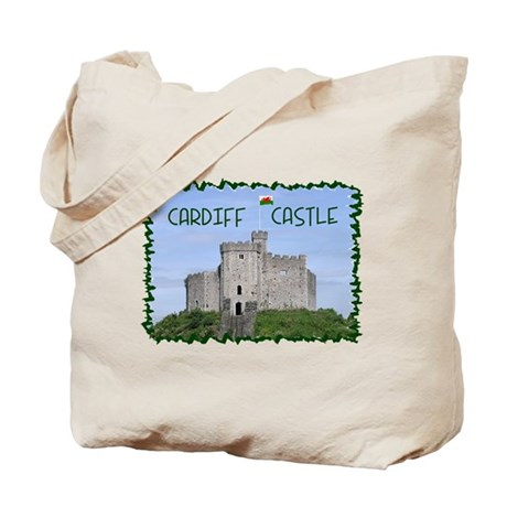 ...Cardiff Castle... Tote Bag