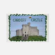 ...Cardiff Castle... Rectangle Magnet