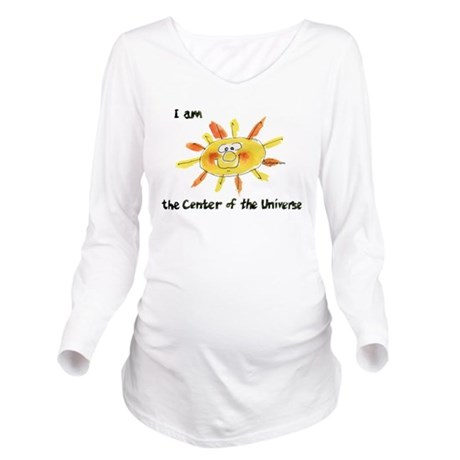 Sun Cartoon Center Universe Long Sleeve Maternity