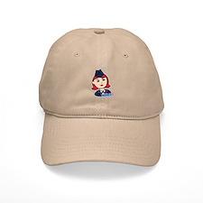 Air Force Head Red Baseball Cap