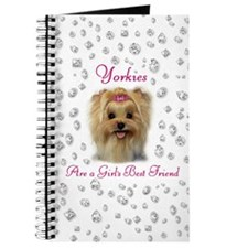 Yorkies are a Girls Best Friend Journal
