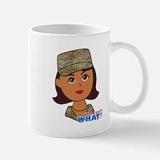 Air Force Camo Head Dark Mug