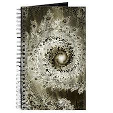 Sepia Fractal Journal