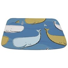 Cute Whales Bathmat
