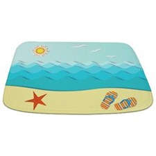 Fun Beach Bathmat