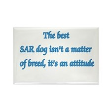 SAR Dog Breed Rectangle Magnet