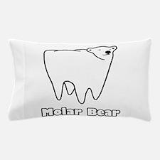 Molar Bear Polar Tooth Bear Pillow Case