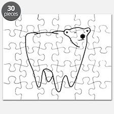 Molar Bear Polar Tooth Bear Puzzle