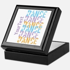 Customize DANCE DANCE DANCE Keepsake Box