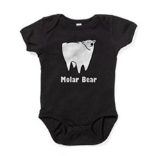 Molar Bear Polar Tooth Bear Baby Bodysuit