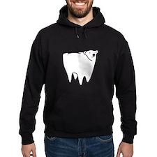 Molar Bear Polar Tooth Bear Hoodie