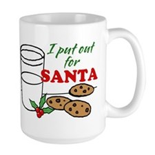 Cookies and Milk Christmas Humor Mugs