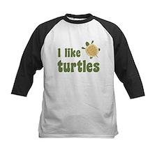 I Like Turtles Baseball Jersey