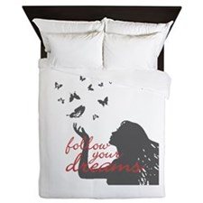 FOLLOW YOUR DREAMS Queen Duvet