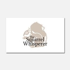 The Squirrel Whisperer Car Magnet 20 x 12