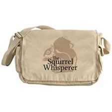 The Squirrel Whisperer Messenger Bag