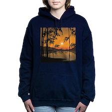 Bamboo Sunset Hooded Sweatshirt