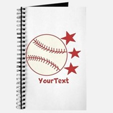 CUSTOMIZE Baseball Journal
