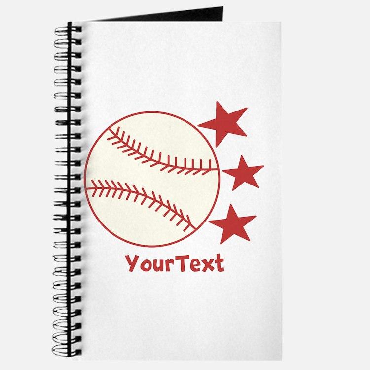CUSTOMIZE Baseball Journal