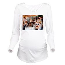 Cute Renoir Long Sleeve Maternity T-Shirt