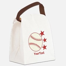 CUSTOMIZE Baseball Canvas Lunch Bag