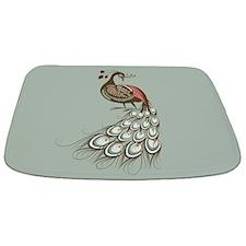 Peacock Bathmat